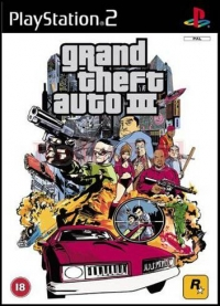 GRAND THEFT AUTO III GTA 3 (PS2)