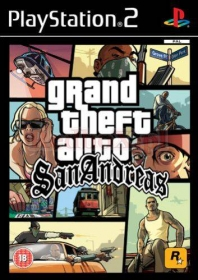 GRAND THEFT AUTO: SAN ANDREAS GTA (PS2)