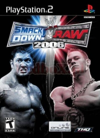 WWE SMACKDOWN! VS.RAW 2006 (PS2)