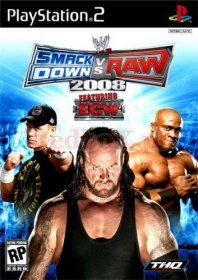 WWE SMACKDOWN! VS.RAW 2008 (PS2)