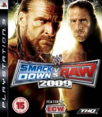 WWE SMACKDOWN! VS.RAW 2009 (PS3)