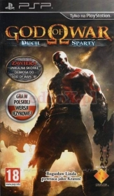 GOD OF WAR: DUCH SPARTY PL  (PSP)