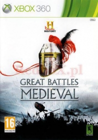 HISTORY: GREAT BATTLES MEDIEVAL (X360)
