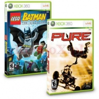 PURE + LEGO BATMAN: THE VIDEO GAME (X360)