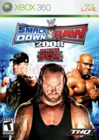 WWE SMACKDOWN! VS.RAW 2008 (X360)