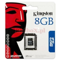MICRO SD 8GB KINGSTON + ADAPTER SD